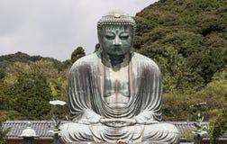 El gran Buda en el  de KÅ toku-en el templo Imagen de archivo