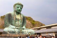 El gran Buddha de Kamakura Imagen de archivo libre de regalías