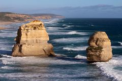 El gran camino del océano - Australia Fotografía de archivo