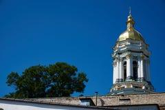 El gran campanario de Lavra en la Kiev Pechersk Lavra Fotos de archivo libres de regalías