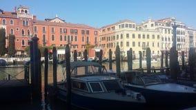 El Gran canal de Venecia Stock Images