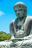 El gran daibutsu de Buda en Kamakura, Japón fotos de archivo