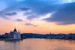 El gran Danubio Imágenes de archivo libres de regalías