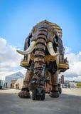 El gran elefante de Nantes Fotos de archivo libres de regalías