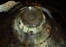 El gran mantiene en el castillo del Pembroke Imagenes de archivo