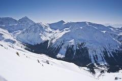 El gran paisaje de las montañas de Tatra Imagen de archivo