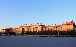 El gran pasillo de la gente en China Imagen de archivo libre de regalías
