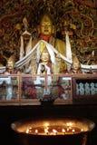 El gran quinto Dalai Lama Imágenes de archivo libres de regalías