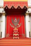 El gran trono imperial en San Jorge Pasillo foto de archivo libre de regalías