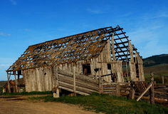 El granero permanece Foto de archivo
