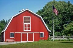 El granero rojo Foto de archivo