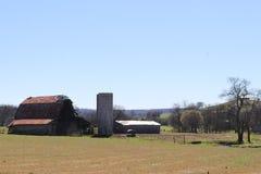El granero viejo Foto de archivo libre de regalías