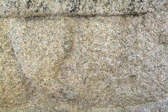 El granito es una piedra grande, mal tratada Imágenes de archivo libres de regalías