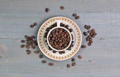 El grano de café Foto de archivo libre de regalías