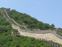 El greatwall en China Imagenes de archivo