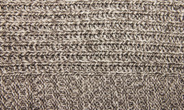el gris hizo punto la ropa caliente hecha punto las lanas para el tex de la tela del invierno Fotografía de archivo libre de regalías