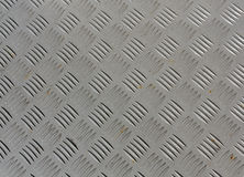 El gris pintó textura del piso del metal con un cierto moho Fotos de archivo