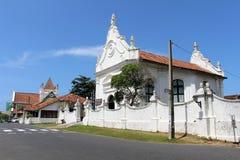 El Groote Kerk o iglesia reformada holandesa dentro del fuerte de Galle fotos de archivo