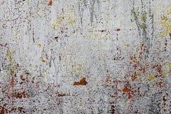 El Grunge aherrumbró textura del metal, fondo gris del metal El panel viejo del hierro del metal Papel pintado de escritorio gris imagen de archivo libre de regalías
