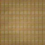 El Grunge neutral simple del fondo de la tela escocesa del moreno texturizó mirada Imagen de archivo