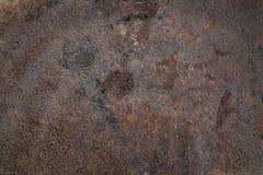 El grunge oxidado manchó textura del hierro Imagen de archivo libre de regalías