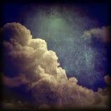 El Grunge se nubla el fondo Imagen de archivo libre de regalías