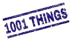 El Grunge texturizó el sello del sello de 1001 COSAS libre illustration