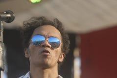 EL GRUPO DE ROCK LEGENDARIO DE INDONESIA Imágenes de archivo libres de regalías