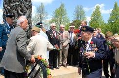 El grupo de veteranos en Toronto Fotos de archivo libres de regalías