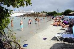 El Guamache harbour in Margarita Royalty Free Stock Photos