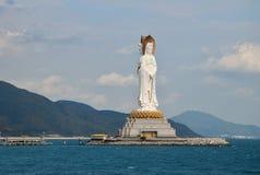 El Guanyin del mar del sur provincia de Sanya, Hainan, China imagen de archivo