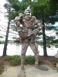El guarda de la roca Fotografía de archivo