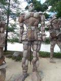 El guarda de la roca Foto de archivo
