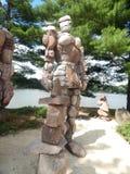 El guarda de la roca Imagen de archivo