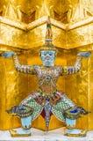 El guarda del demonio en el palacio magnífico, Bangkok Imágenes de archivo libres de regalías
