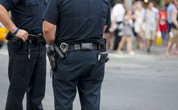 El guardar de la policía Imagen de archivo libre de regalías