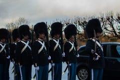 El guardia real danés Foto de archivo