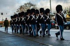 El guardia real danés Foto de archivo libre de regalías