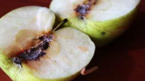 El gusano se arrastra de Apple corrompido almacen de video