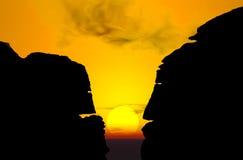 El hablar de las piedras Foto de archivo libre de regalías