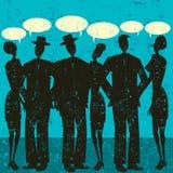El hablar de los pares libre illustration