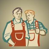 El hablar de Workerz libre illustration
