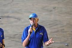 El hablar rápido de Russ Foto de archivo
