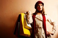 ¡El hacer compras!!! Imagen de archivo