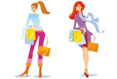 El hacer compras - ejemplo. Fotos de archivo