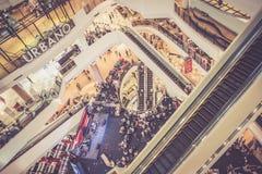 El hacer compras en Bangkok foto de archivo