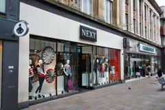El hacer compras en el Reino Unido Imagen de archivo libre de regalías