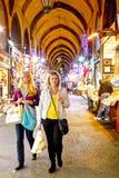 El hacer compras en Estambul Foto de archivo libre de regalías