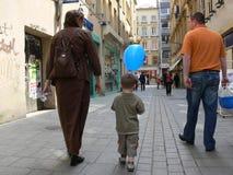 El hacer compras en Metz Imagen de archivo libre de regalías
