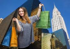 El hacer compras en New York City Fotos de archivo